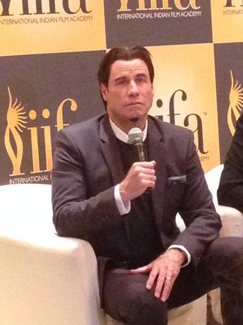 John Travolta's Press Conference
