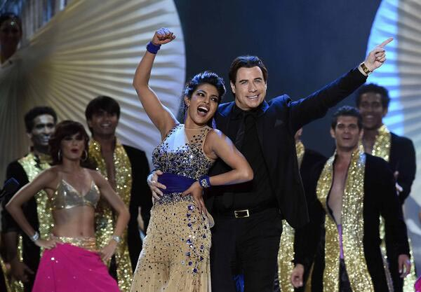 Priyanka and John give a stellar performance! (Getty Images)
